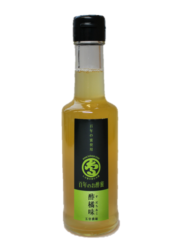 Rice Vinegar with Sudachi and Agave Syrup