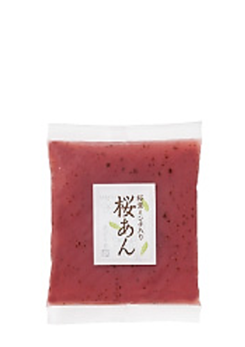 Sakura cherry tree leaf paste (Anko sakura)