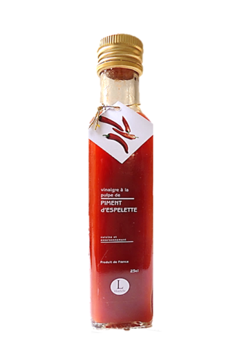 French Piment d'Espelette Vinegar