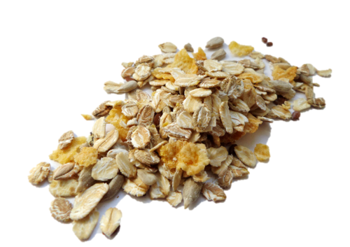 Muesli without raisins