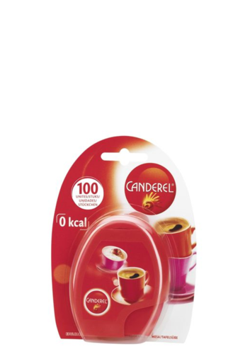 Canderel bag dispenser with 100 sweetener tabs