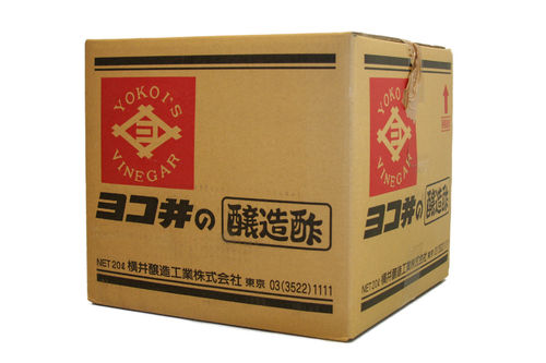 Yokoi Rice Vinegar Akasu 20L